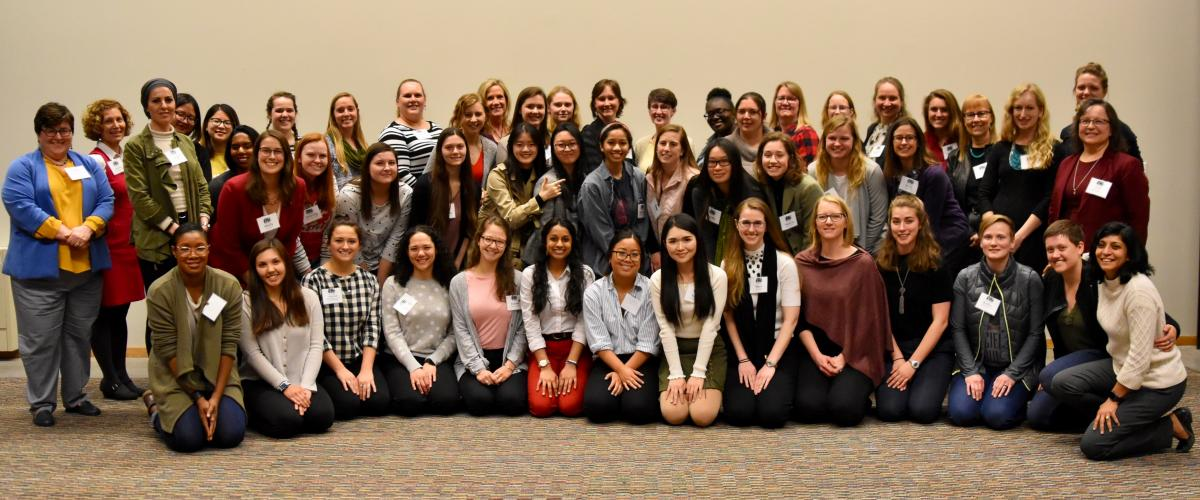 The AWARES Class of 18-19 was the largest thus far in program history