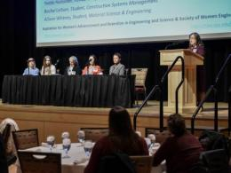 The third annual Sexual Harassment in the Workplace Panel was hosted by AWARES earlier this year